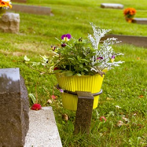 Flower Ring In Memory Of | Chilliwack Cemeteries in the Fraser Valley of British Columbia