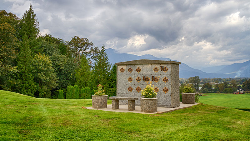 cremation niche wall | Chilliwack Cemeteries